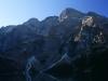 Tatry zo severnej strany, vpravo hore Mních