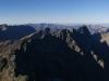 Panoráma na Rysoch, pohľad na západ
