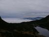 Popradská kotlina v hmle