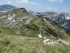 Cestou po hrebeni.