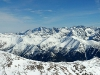 Panoráma Vysokých Tatier z vrcholu Bystrej