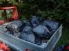 Plná multikára odpadkov