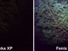 porovnanie pri najsilnejších svetelných režimoch