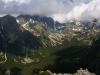 Pohľad do oblakmi zahalenej Mengusovskej doliny