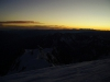 východ slnka na mont blacu