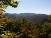 Cesta lesom na Muránsky hrad - žltá značka zo sedla Predná hora
