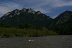 Splav Dunajca na pltiach