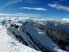 Po siedmych hodinách konečne dosahujeme kótu 4545m - máme vrchol