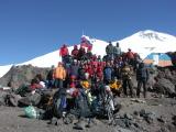 Rozlúčkové foto pod Elbrusom
