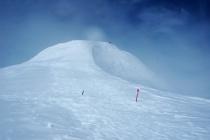 Vrcholové plató a samotný vrchol