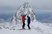 Skialpovanie po ľadovci Dachstein