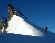 Walliské Alpy – 3.časť: Rimpfischhorn - severný vrchol (4108)