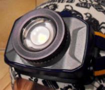 Test zoomovacej čelovky Fenix HL40R