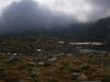 Prichádzajúce mraky nad Veľkou studenou dolinou