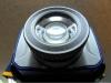 Detail zasunutej TIR optiky (na blízko)