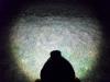 Svetelný kužeľ na blízko (2 m) - zoom na max. šírku  kužeľa