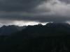 Mraky nad Kaprovym vrchom