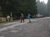 Sobotné ráno pri chate Zverovka. Začíname.