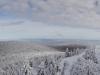 Panoramatické zábery z vrcholu