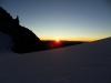 východ slnka z Allalinpassu (3564)