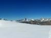 panoramata na zostupe Mellichgletscherom